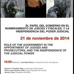 Papel del Gobierno en el nombramiento de jueces y fiscales. MEDEL, UPF, JpD